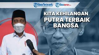 Melayat Mendiang Mantan Hakim Agung Artidjo Alkostar, Jokowi: Kita Kehilangan Putra Terbaik Bangsa