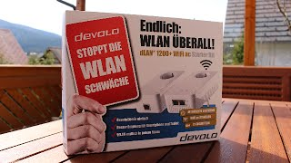 Review: Devolo dLAN 1200+ WiFi ac Starter Kit | Deutsch/German 2015