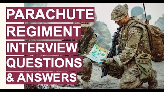 PARACHUTE REGIMENT Interview Questions & Answers! (How to Join The Parachute Regiment)