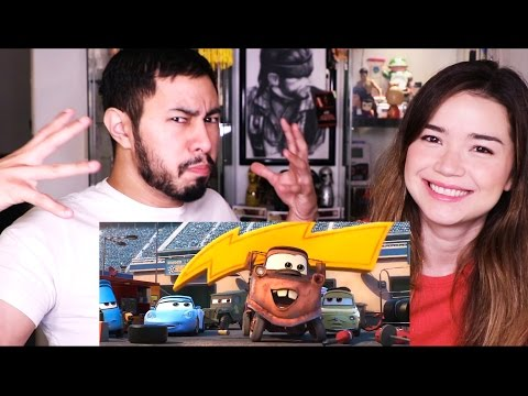 CARS 3 | Trailer #1 Reaction!