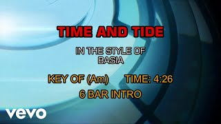 Basia - Time And Tide (Karaoke)