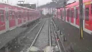 preview picture of video 'Abstellen S-Bahn    BH TP   29 12 09'