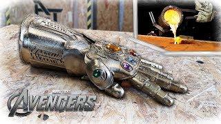 Casting REAL BRONZE THANOS Infinity Gauntlet   (Avengers: Infinity War)