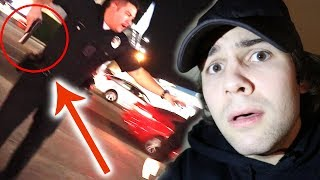POLICE PULLED GUN ON US!! (PRANK GONE WRONG)