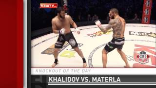 Knockout of the Day: Mamed Khalidov vs. Michal Materla at KSW 33 by Fight Network