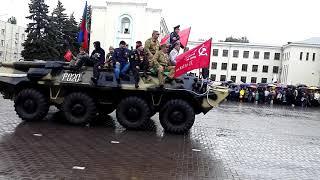 Парад  ПОБЕДЫ!!!Черкесск 2018г.