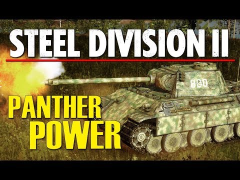 PANTHER POWER! Steel Division 2 Conquest Gameplay (Góra Kalwaria, 4v4)