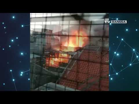 Kebakaran Hanguskan Rumah di Jakarta Pusat