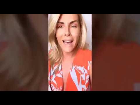 Ana Hickmann Contra Ataca a Criticas Recebidas após encontro com Bolsonaro