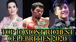 TOP 10 RICHEST CELEBRITIES IN THE PHILIPPINES 2020