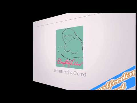 Breastfeeding tutorial.Breast massage and hand expression milk