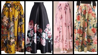 Latest Beautiful Floral Skirts Ideas (2020)
