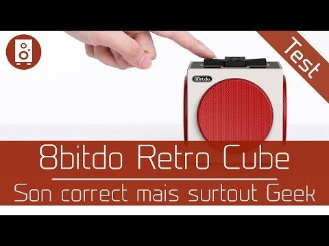Test : 8bitdo Retro Cube Speaker - Son correct mais surtout Geek - belchine.net