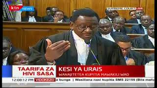 James Orengo addresses the issue on substantial non-compliance by the IEBC