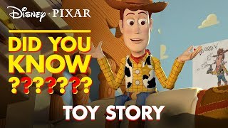 Toy Story Secrets & Easter Eggs | Pixar Did You Know? by Disney•Pixar