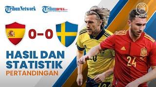 Highlight & Hasil Pertandingan Euro 2020 Spanyol vs Swedia, Laga di Sevilla Berakhir Tanpa Gol