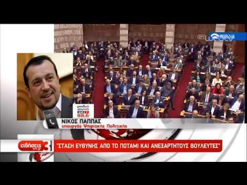 Θα ψηφιστεί με πάνω από 151 ψήφους η Συμφωνία των Πρεσπών εκτιμά η κυβέρνηση | 22/01/19 | ΕΡΤ