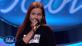 Kamilla Wigestrand: Heaven - Julia Michaels   Idol Norge 2018