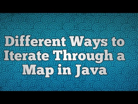Different Ways to Iterate Through a Map in Java