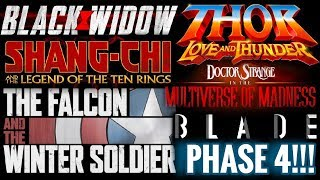 Marvel Phase 4 Everything You Need To Know