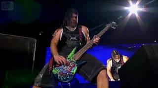 Metallica - Rob Bass Solo (Live, Gothenburg July 3. 2011)