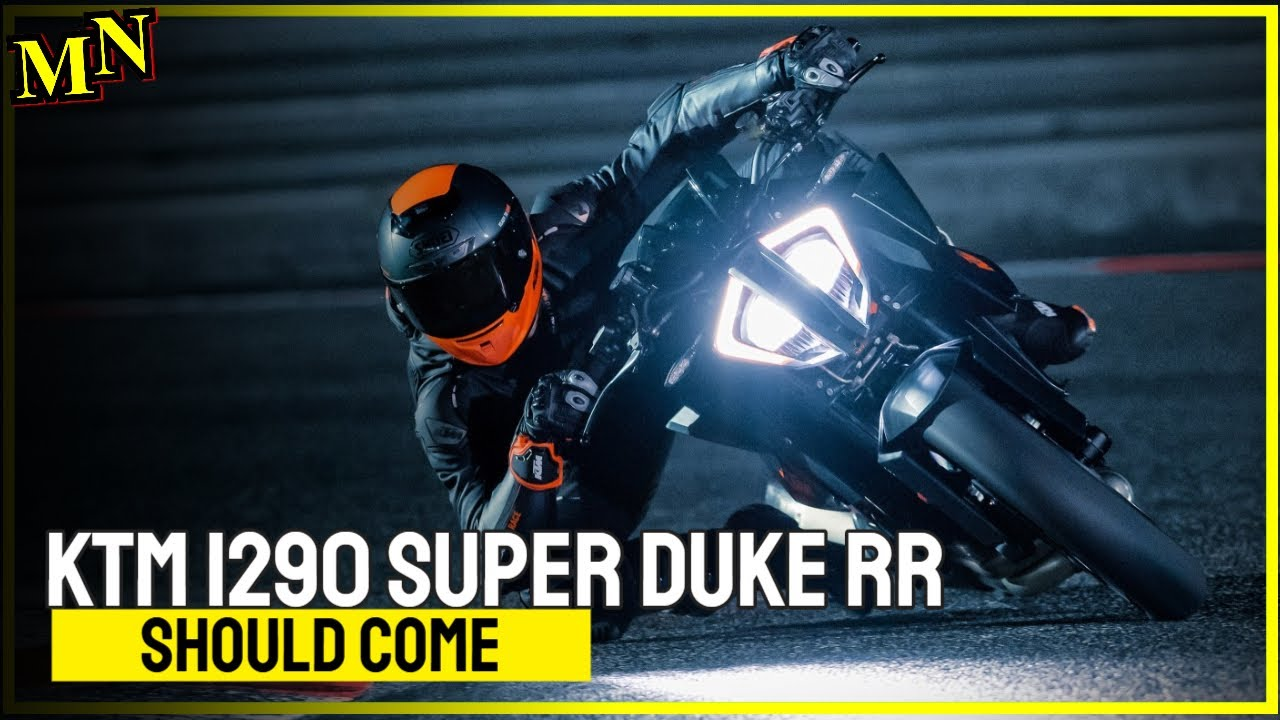 An Extreme KTM 1290 Super Duke RR should come
