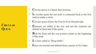 Circular Queue in Hindi Part -2 - Free video search site - Findclip