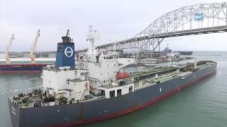 THEO T Departs Port Corpus Christi
