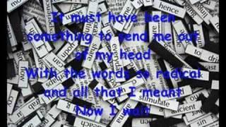 Four Walls by Cheyenne Kimball (lyrics)