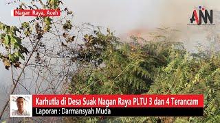 Karhutla di Suak Puntong, PLTU 3 dan 4 Nagan Raya Terancam