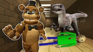 MILITARY SHOWS UP TO BATTLE THE FNAF & ZOMBIE ARMY