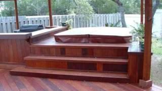 Hardwood Decks - Austin Deck