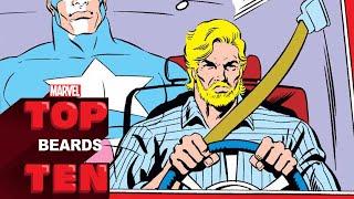 Top 10 Beards | Marvel Top 10