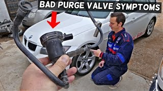 SYMPTOMS OF BAD PURGE CANISTER VALVE. HOW TO KNOW IF PURGE VALVE IS BAD P0443 P0444