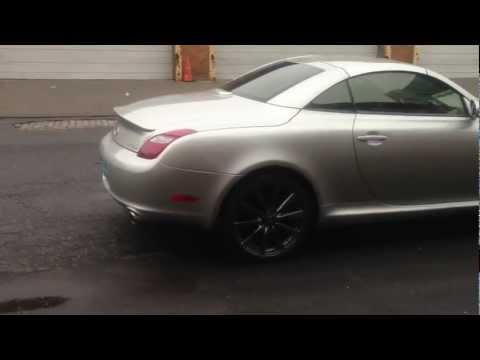 SC430 On Lexus ISF Rims (Wheels)