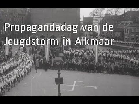 De Jeugdstorm paradeert in Alkmaar