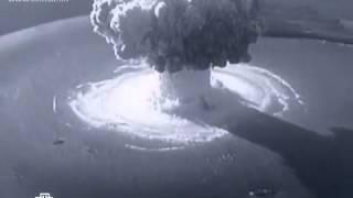 Первый подводный атомный взрыв в СССР (21.09.1955)