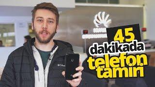 45 DAKİKADA TELEFON TAMİRİ - Huawei teknik servisini gezdik!