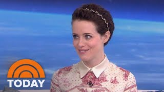 'First Man' Star Claire Foy On Portraying Neil Armstrong's Wife | TODAY