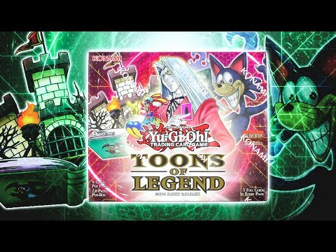 INSANE YuGiOh TOONS of LEGEND Box Opening & Review!
