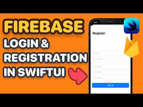 Firebase SwiftUI Login, Registration, Password Reset & Session Management with Combine thumbnail