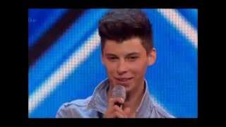 THE X FACTOR 2014 STAGE AUDITIONS - JAMES GRAHAM