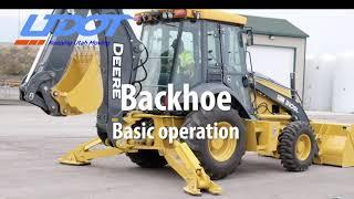 Backhoe - Cab Basic Operation