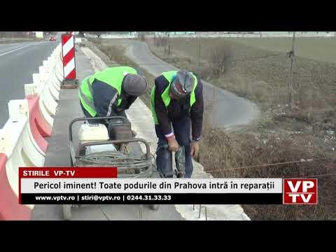 Pericol iminent! Toate podurile din Prahova intră în reparații