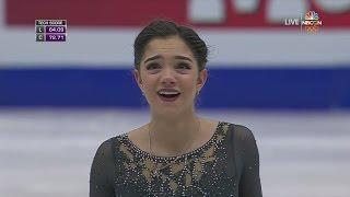 2017 Europeans - Evgenia Medvedeva FS NBCSN HD