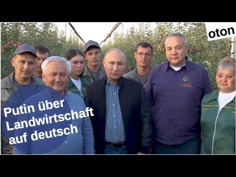 Putin zur Landwirtschaft auf deutsch [Video]