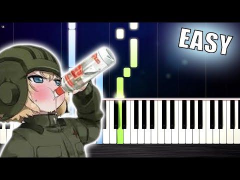 KATYUSHA - EASY Piano Tutorial by PlutaX