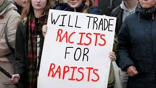 """Feminists Protest Against """"Racism"""" - After Migrant Gangrape"""