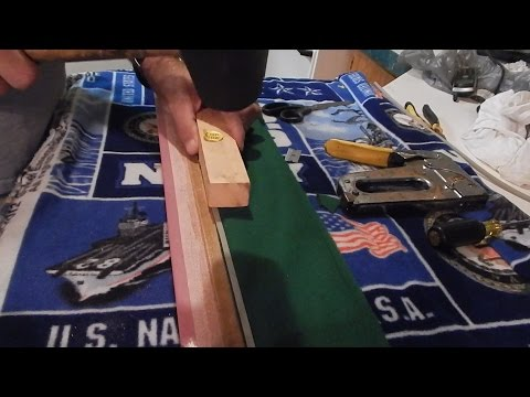 Pt 2 Replacing Pool Table Rail Cushions/Bumpers Mp3