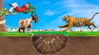 भूमिगत बाकरी मटन वाला Underground Mutton Wala Comedy Video हिंदी कहानिय Hindi Kahaniya Comedy Video